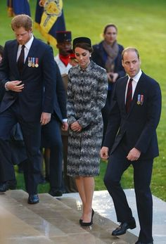Duchess in France to commemmorate WWI