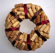 wine cork wreath 2