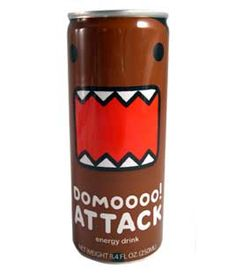 Domo Attack Energy Drink