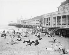 Steel Pier, Atlantic City, NJ, c. 1904