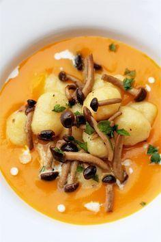 Raw Food Recipes, Gourmet Recipes, Vegetarian Recipes, Healthy Recipes, Gnocchi Recipes, Pasta Recipes, Polenta, Risotto, Tapas