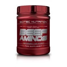 Beef Aminos Scitec Nutrition, Nutrition Sportive, Acide Aminé, Bodybuilding Recipes, Beef, Products, Fat Burner, Places, Meat