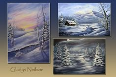 Art Apprentice Online - E-Book - Introduction to Winter Landscape Painting with Gladys Neilsen (includes three progressive lessons), $24.95 (http://store.artapprenticeonline.com/e-book-introduction-to-winter-landscape-painting-with-gladys-neilsen-includes-three-progressive-lessons/)