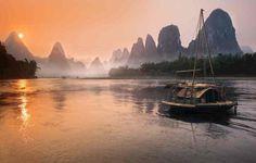 Photograph Legend of Lijiang river 漓江传奇 by Daniel Metz on Guilin, Landscape Photos, Landscape Photography, Nature Photography, Lijiang, Beach Rocks, Photos Of The Week, Travel Photographer, Professional Photographer