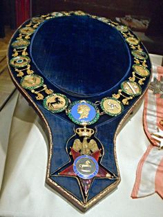 Collar of Order of Two Sicilies (1813), belonged to Murat - gold and polychrome enamels - Naples, San Martino Museum