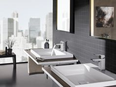 Our Eurocube faucet collection brings chic, urban design to the water category.