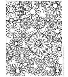 Coloriage Difficile à colorier - Dessin à imprimer