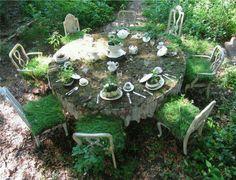 Miss Haversham's wedding breakfast