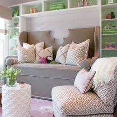 Upholstered daybed  #interior #design #interior_design