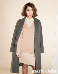 Korean Actress Lee Min Jung DKNY For Marie Claire Magazine October 2015 Photoshoot Fashion