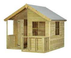 Maisonnette en bois pour enfant 0811381 acheter pas cher - Cabane en bois pas cher castorama ...