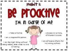 FREE 7 Habits of Happy Kids Poster Set