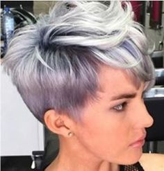 244 Best Beauty Rockin Women With Grey Hair Images In