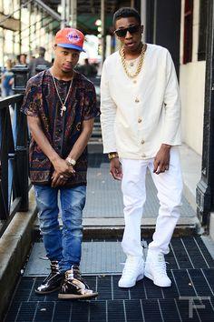 This is real dope street fashion... Thug Fashion 1efc7d09278