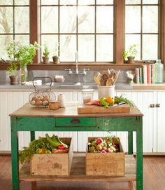 17 kitchen islands to the small kitchen - Comfortable home