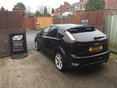 2010 Ford Focus ST in this afternoon for 5% Carbon limo tints to the rear.