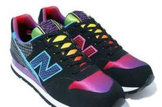 New Balance Revlite Rainbow - If the New Balance Revlite Rainbow could glow any more than it already does, runners could probably do without reflective streams on their outfits ...