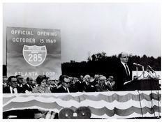 I-285 opens - October 15, 1969
