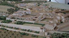 Reconstruction of Hadrian's villa at Tivoli