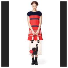 NWOT Jason Wu Target navy striped shift dress -S NWOT Jason Wu Target Navy striped Shift Dress. Rayon. Size S. Never worn. Perfect for summer! Jason Wu Dresses Midi