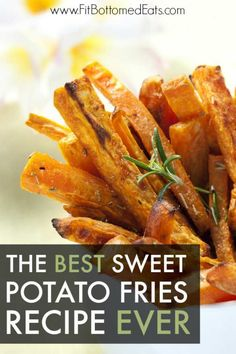 We can't resist this sweet potato fries recipe. Healthy, delicious, flavorful--what more could you ask for in a fry?