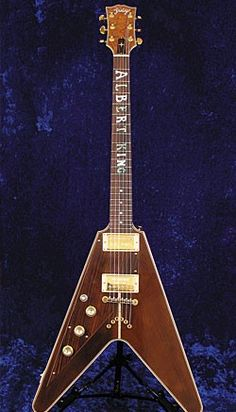 The guitar that made Jimi Hendrix cry. Albert King's Flying V  |  www.errico.com
