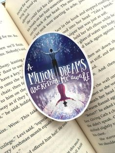 Every night I lie in bed, the brightest colors fill my head. A million dreams are keeping me awake Did you just sing along? If you did and you love The Greatest Showman, like I do, this fun sticker is for you! Perfect for decorating and adding uniqueness to your laptop, favorite