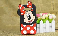 cool Cute 3D Cartoon Minnie Mickey Mouse Silicone Cases For Samsung Galaxy J1 Ace J1 J2 J5 J7 2015 A5 A7 2016 Skin Phone Back Cover