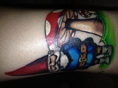 Gnome tattoos on pinterest gnomes tattoos and body art for Garden gnome tattoo designs