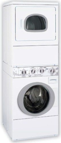 buy this great space saver the speed queen atg50 27 stacked gas washer dryer