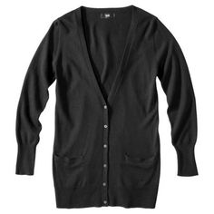 Mossimo Womens V-Neck Ultra Soft Boyfriend Cardigan - Assorted Colors -- PERFECT for my fall baby bump