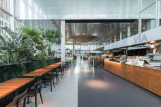 Restaurant Hof House in The Hague, The Netherlands. By OMA Photo : DSL Studio