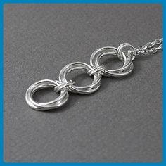 6efd98715 Triple Infinity Love Knot Necklace - Wedding nacklaces (*Amazon  Partner-Link)