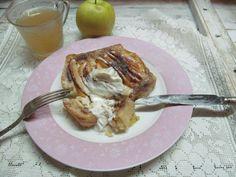 «Ленивый» десерт из яблока   Кулинарные рецепты с фото пошагово