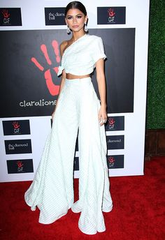 Zendaya Off White Look