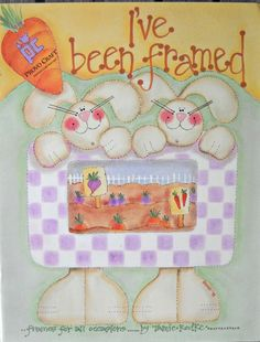 I've Been Framed Decorative Painting Book, by Tamie Rodke by CurlicueCreations on Etsy
