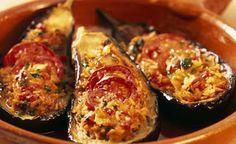 Surinaams eten!: Gevulde boulanger: heerlijke aubergine uit de oven...