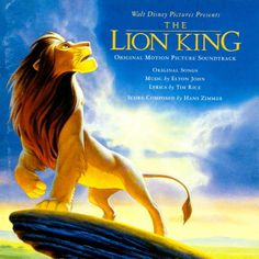 Day 19: Favorite soundtack. The Lion King Soundtrack by Hans Zimmer, Elton John and Tim Rice