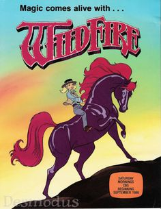 Wildfire. Yes, I watched it for the brief season it was on. 80s. The whole lost heiress concept was something I was big on--She-Ra, Amethyst...