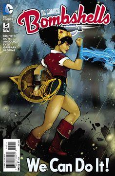 DC Comics Bombshells (2015) Issue #5