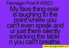 Yeah but people only give me one second to talk before they ignore me so that moment slips away