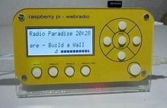 Webradio V2: brandy72's project is powered by Raspberry Pi.