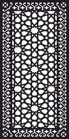 Wall Separator, Jaali Design, Cnc Cutting Design, Moroccan Art, Decorative Screens, Cnc Plasma, Vinyl Cutter, Wall Patterns, Pattern Art