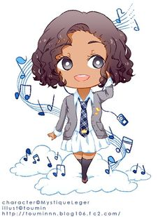 259 best black girls can be in anime images on pinterest nice