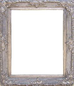 Silver Framed Mirrors: Ornate Antique Silver Framed Mirror 1620x1320mm