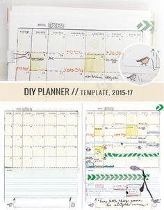 TwoPage Week  X   Diy Planner Template  Template Pdf