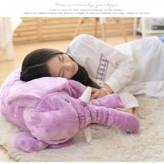 INS large elephant pillows cushion baby plush toy stuffed animal kids gift Jumbo