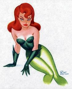 Poison Ivy by Bruce Timm *