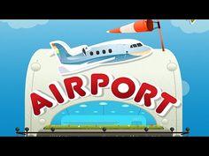 Bamba Airport App - Flughafen Spiel für Kinder, iPad iPhone