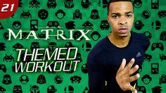 35 Min. The Matrix Themed HIIT + Dumbbell Workout | Geek HIIT #21